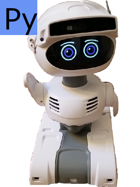 Misty II Robot Programming Pack, Facial Recognition-Remote control via REST interface, Python language